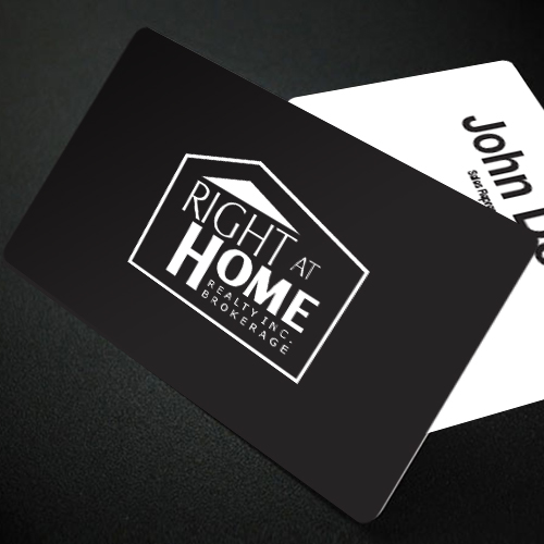 Magnetic Business Cards<br><br> - Right At Home