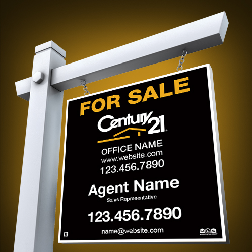 For Sale Signs<br><br> - Century 21