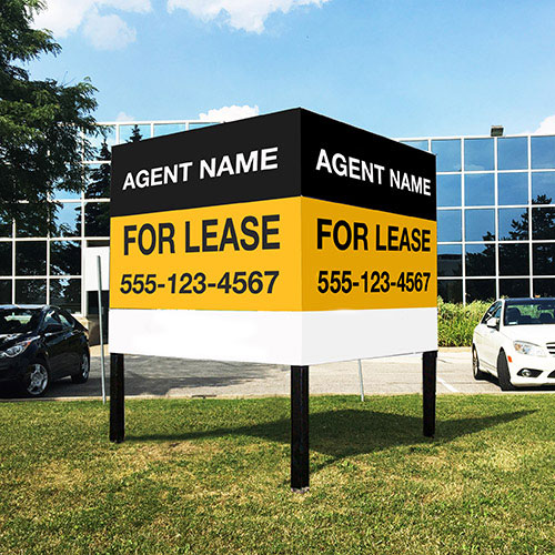 Commercial log signs