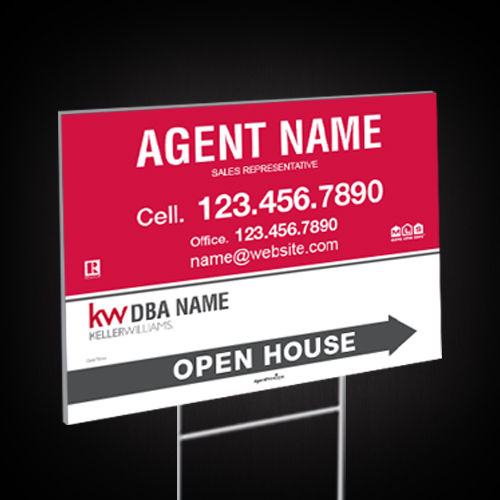 Directional Signs<br><br> - Keller Williams
