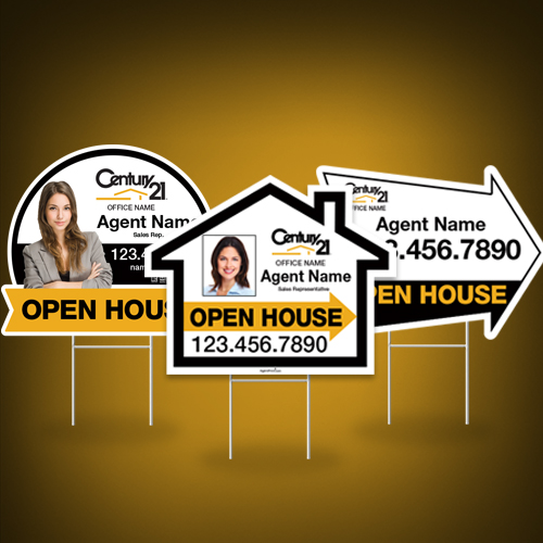 Directional Signs (Shaped)<br><br> - Century 21