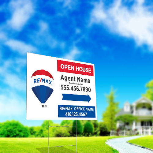 Directional Signs<br><br> - RE/MAX