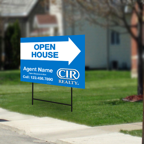 Directional Signs<br><br> - CIR Realty