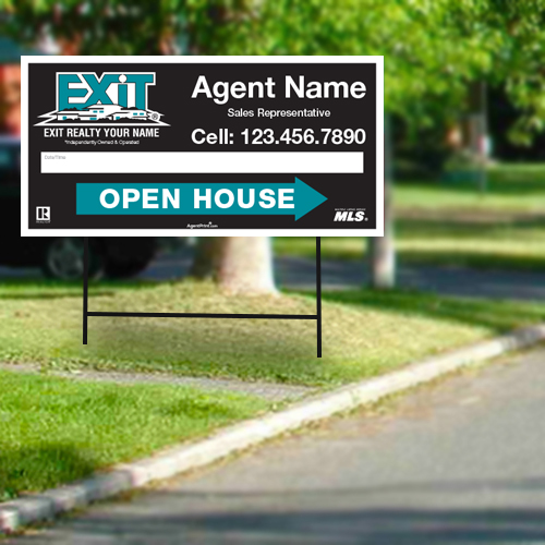Directional Signs<br><br> - Exit Realty
