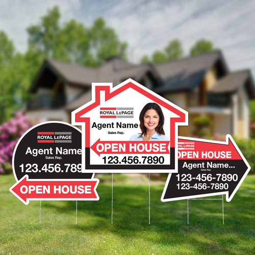 Directional Signs (Shaped)<br><br> - Royal LePage