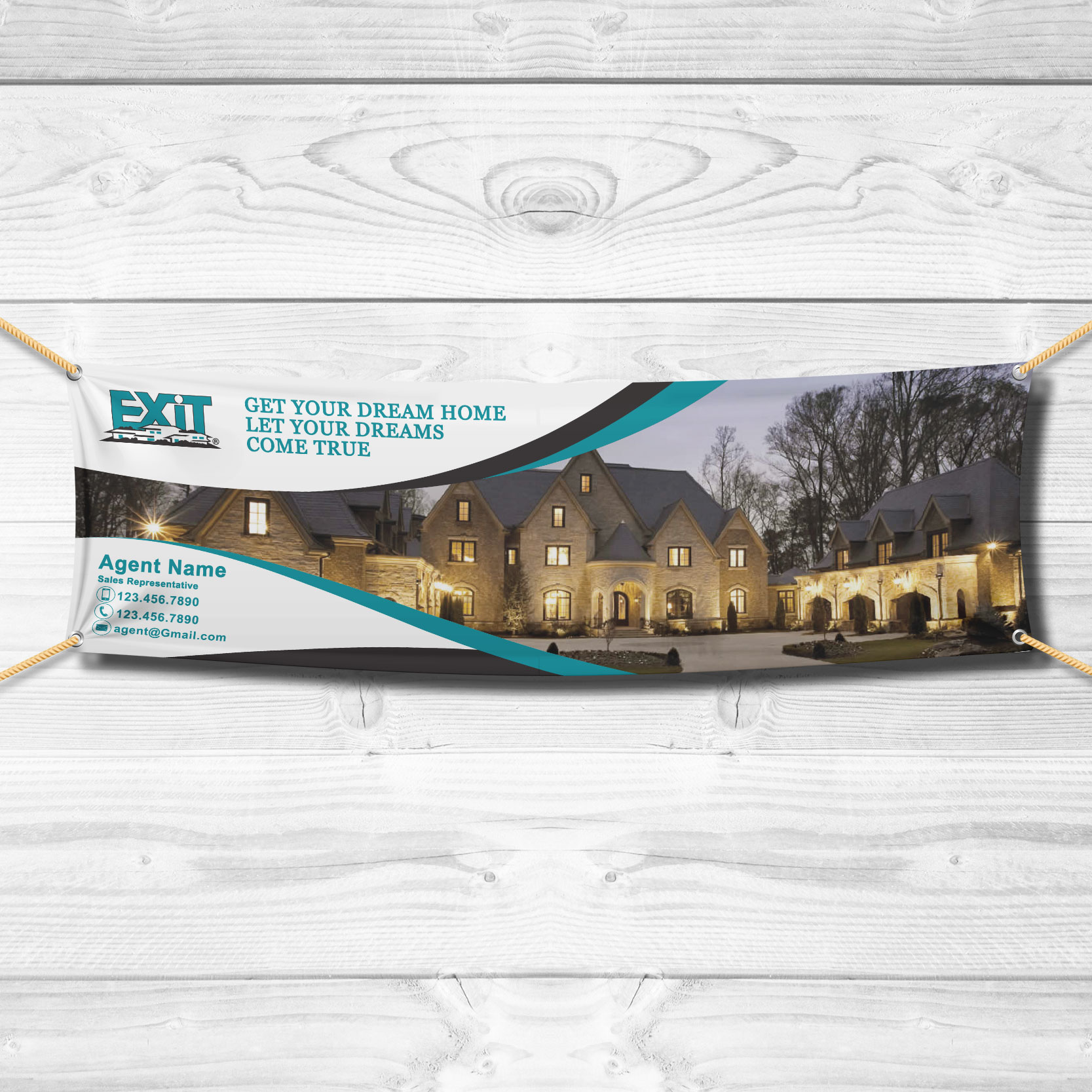 Vinyl Banners<br><br> - Exit Realty