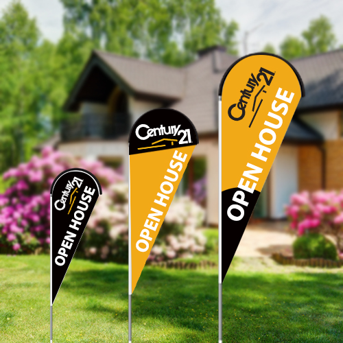 Teardrop Flags<br><br> - Century 21
