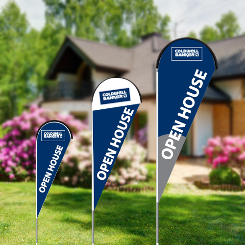 Teardrop Flags<br><br> - Coldwell Banker