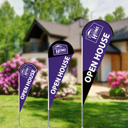 Teardrop Flags<br><br> - Right At Home