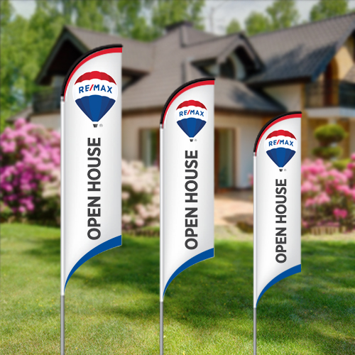 Feather Flags<br><br> - RE/MAX