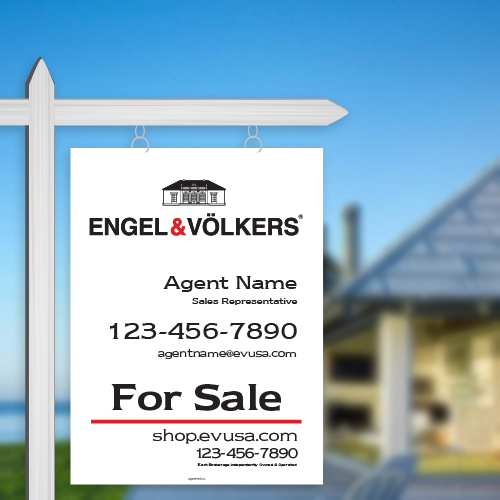For Sale Signs<br><br> - ENGEL & VOLKERS