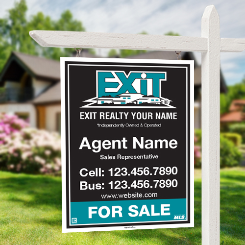 For Sale Signs<br><br> - Exit Realty