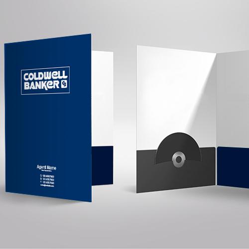 Presentation Folders<br><br> - Coldwell Banker