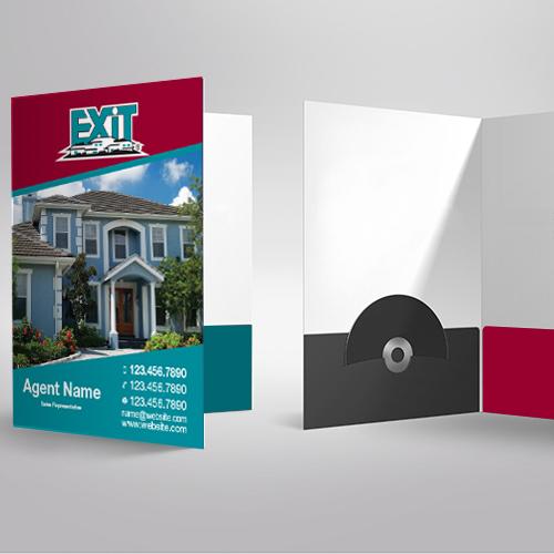 Presentation Folders<br><br> - Exit Realty