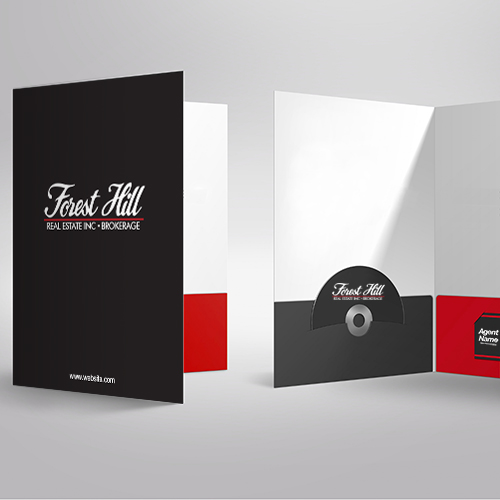 Presentation Folders<br><br> - Forest Hill