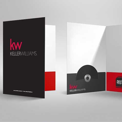 Presentation Folders<br><br> - Keller Williams