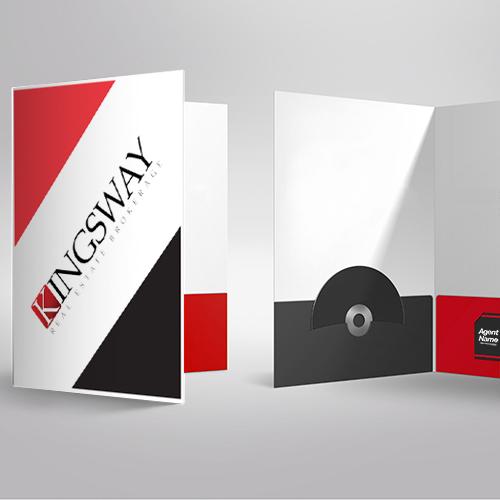 Presentation Folders<br><br> - Kingsway