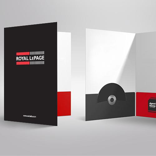 Presentation Folders<br><br> - Royal LePage
