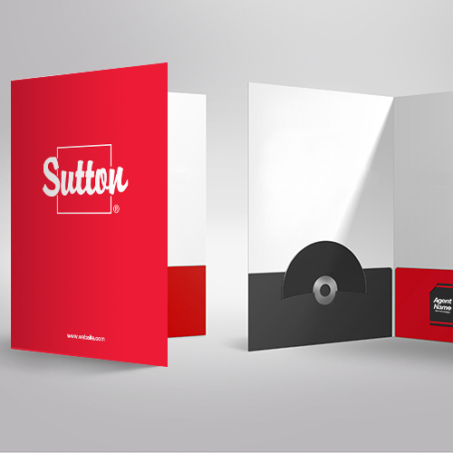 Presentation Folders<br><br> - Sutton