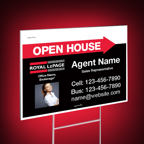 Directional Signs<br><br> - Royal LePage