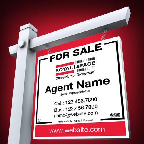 For Sale Signs<br><br> - Royal LePage
