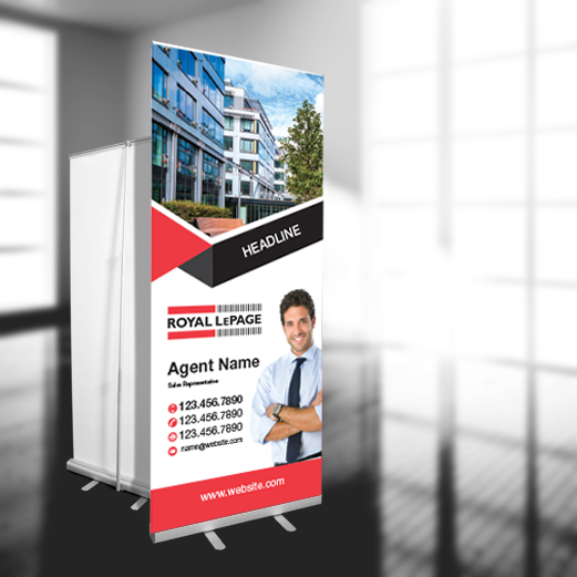 X-Frame Banners<br><br> - Royal LePage