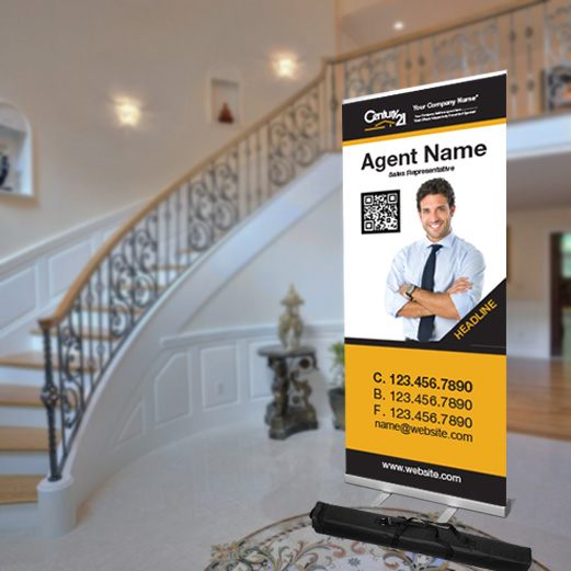 Roll-Up Banners<br><br> - Century 21