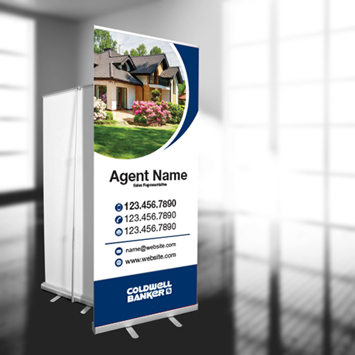 Roll-Up Banners<br><br> - Coldwell Banker