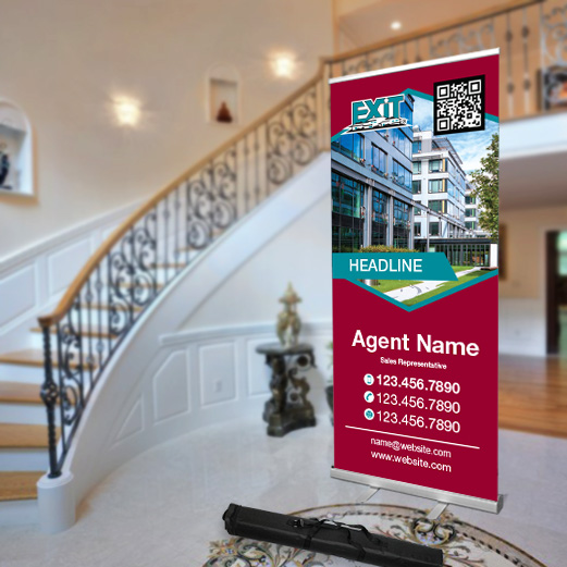 Roll-Up Banners<br><br> - Exit Realty