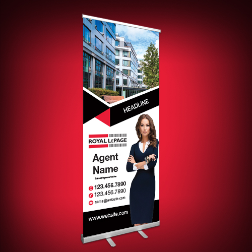 Roll-Up Banners<br><br> - Royal LePage