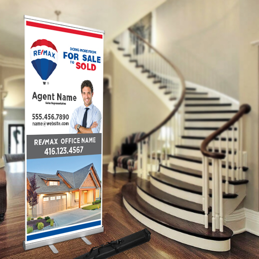 Roll-Up Banners<br><br> - RE/MAX