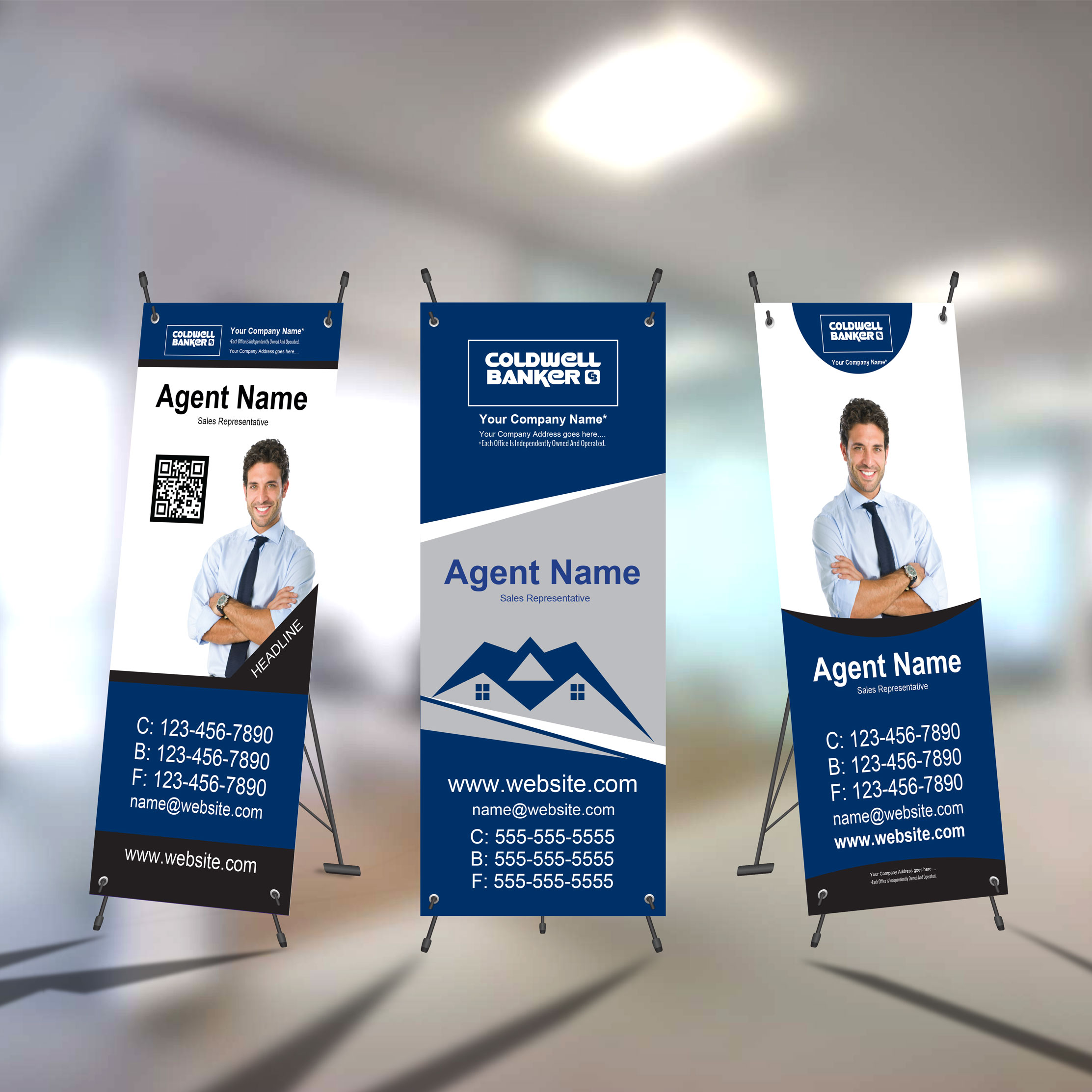 X-Frame Banners<br><br> - Coldwell Banker
