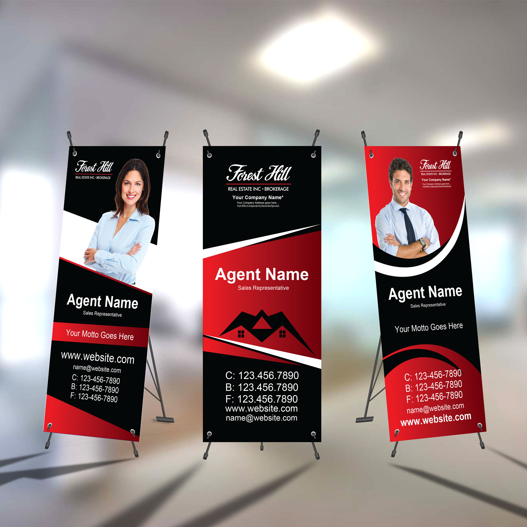 X-Frame Banners<br><br> - Forest Hill