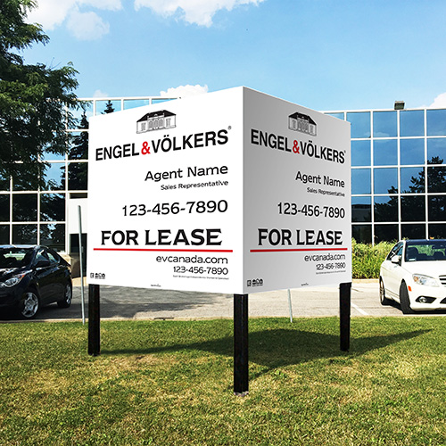 Commercial Signs<br><br> - ENGEL & VOLKERS