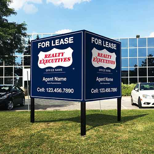 Commercial Signs<br><br> - Realty Executives