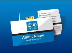 CIR Realty</br>Semi Gloss</br>Business Cards