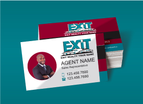 EXIT Realty</br>Semi Gloss</br>Business Cards