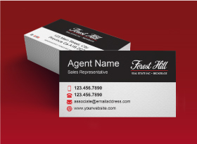 Business Cards - Forest Hill