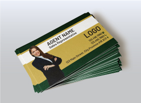 Soft Touch (Suede) </br> Business Cards