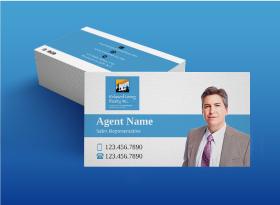 Matte </br>Business Cards