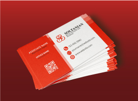 Soltanian</br>Soft Touch (Suede) </br> Business Cards