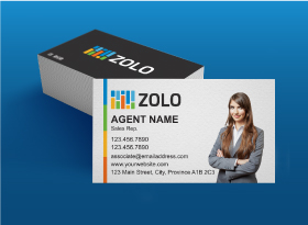 Zolo</br>Matte </br>Business Cards