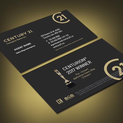 Agentprint Century 21 Business Cards Canadas Favourite