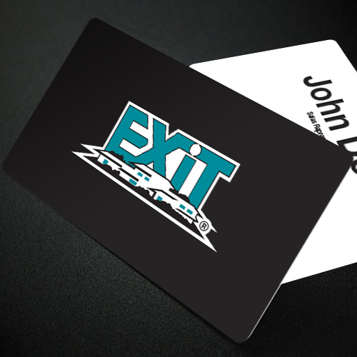 Magnetic Business Cards<br><br> - Exit Realty