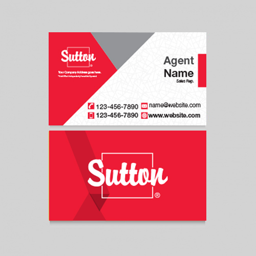 Business Cards<br><br> - Sutton