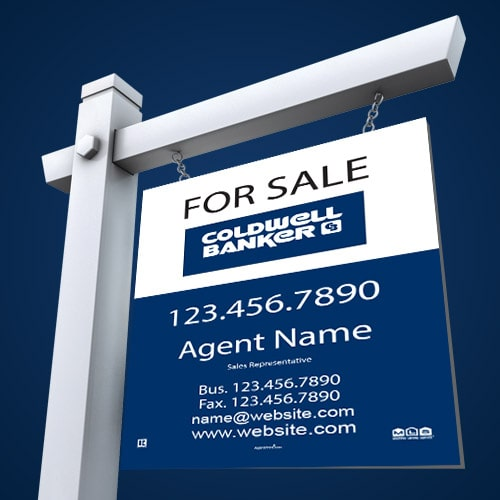 For Sale Signs - Coldwell Banker
