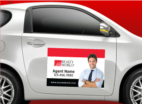 Car Magnets - Realty World