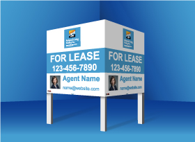 Commercial Signs - Relaxed Living Realty Inc.