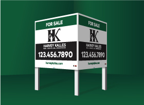 Commercial Signs - Harvey Kalles Real Estate