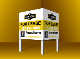 Commercial Signs - Main Street Realty